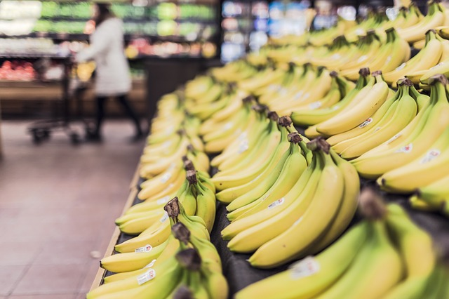 果物バナナ